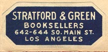 Stratford & Green, Booksellers, Los Angeles, CA (35mm x 16mm).
