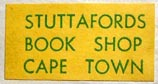 Stuttafords Book Shop, Cape Town, South Africa (25mm x 13mm, ca.1958). Courtesy of Albert Mendez.